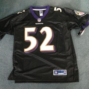 Ray Lewis #52 jersey large