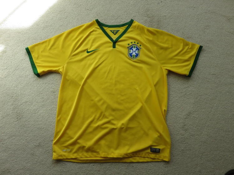 online store a566b 4eded 2014 Brazil world cup jersey (home)