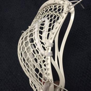 Warrior Bn Evo 4 Hs With String King 3s Sold Lacrosse Heads