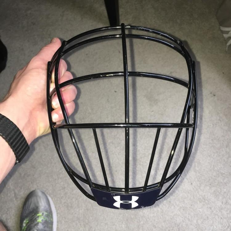 Under Armour Csa Cla Box Cage Face Mask With Chin Strap