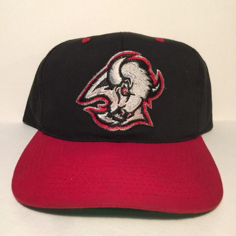 53da9c228b1 Vintage Buffalo Sabres SnapBack Hat - SOLD