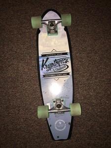 Skateboard / mini longboard by Kryptonics
