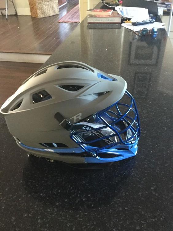 Cascade UNC Grey Matte R Cascase with Blue Chrome Mask ...