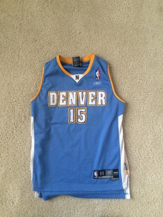 separation shoes 317ba 185e2 Reebok Denver Nuggets Carmelo Anthony Jersey