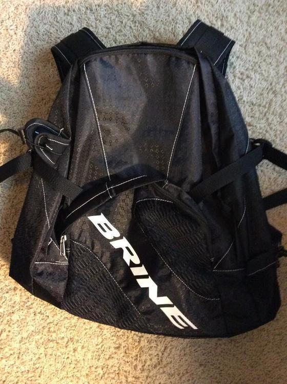 Brine jetpack lacrosse backpack.