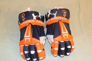 FCA Lacrosse Under Armour Command Pro Glove lax - large Fellowship of Christian