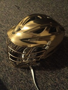 Notre Dame Lacrosse Cascade R Helmet