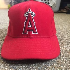 LA Angels New Era Cap (7 3/8)