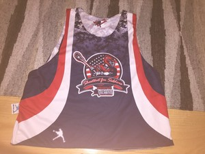 Shootout For Soldiers 2013 Reversable Pinnie