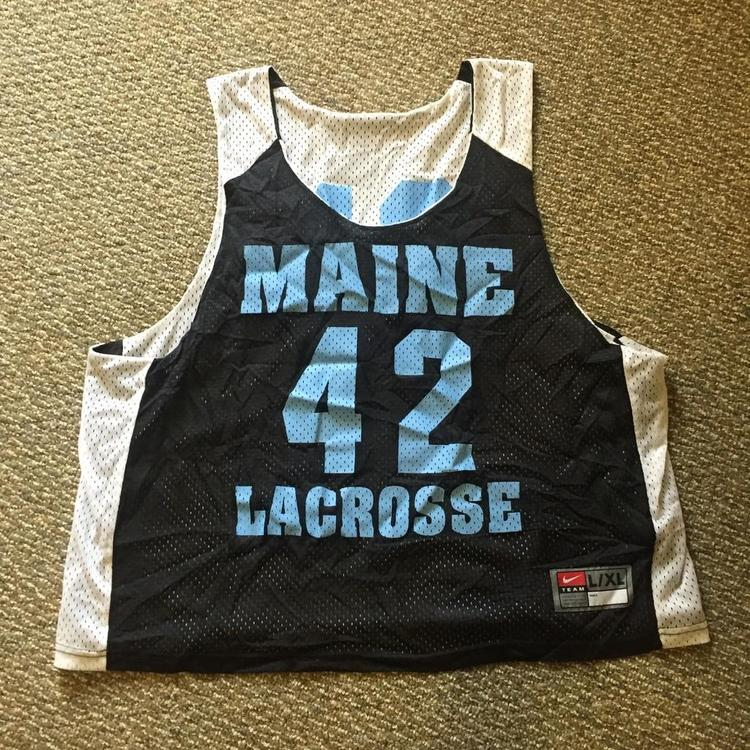 University of Maine Lacrosse Nike Pinnie (L/XL)