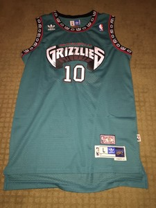 Real Mike Bibby Memphis Grizzlies Jersey (#10)