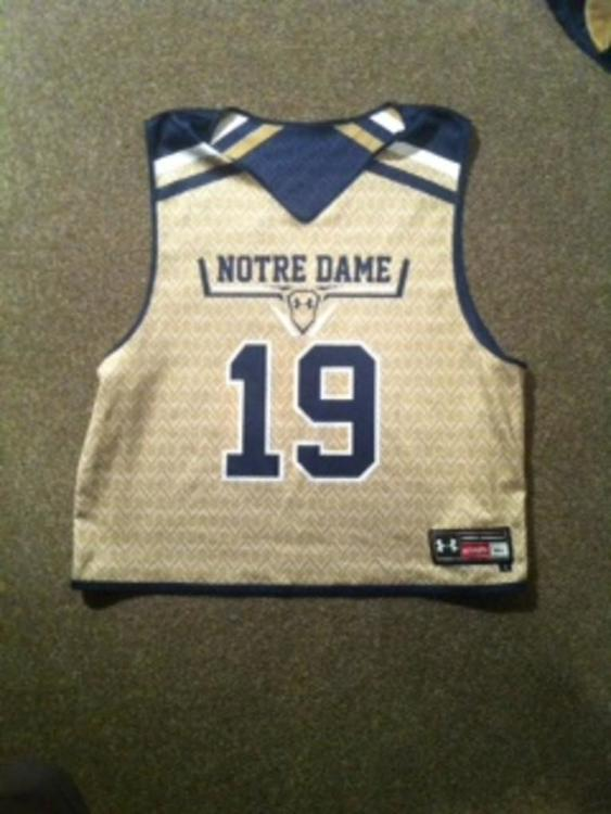 Under Armour Notre Dame 2016 Practice Jersey Sold