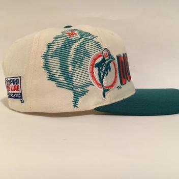 ... hot vintage miami dolphins sports specialties shadow snapback hat sold  3f48e ce7c8 1f1a7ff17a4e