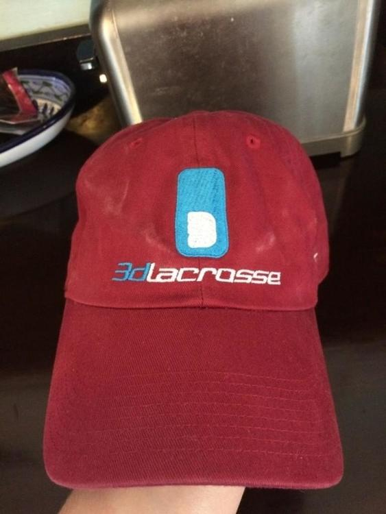 Nike 3d Hat Maroon Red Sold Lacrosse Apparel