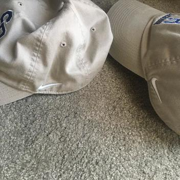 f2d7bd3e Nike 2 BN Custom SR Team Hats (adjustable/TAN/Khaki) | SOLD ...
