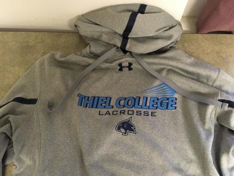 Underarmor Thiel Lacrosse Sweat Shirt - SOLD