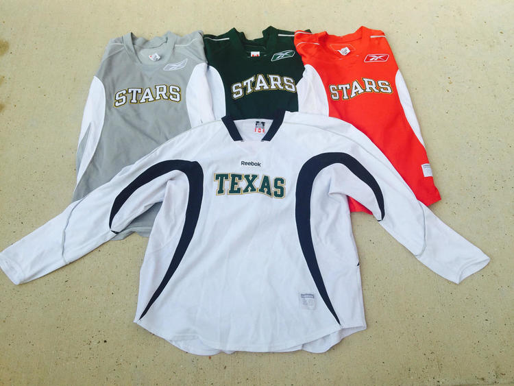 46b6abb74 Reebok Texas Stars AHL Edge Pro Stock Practice Various Colors ...