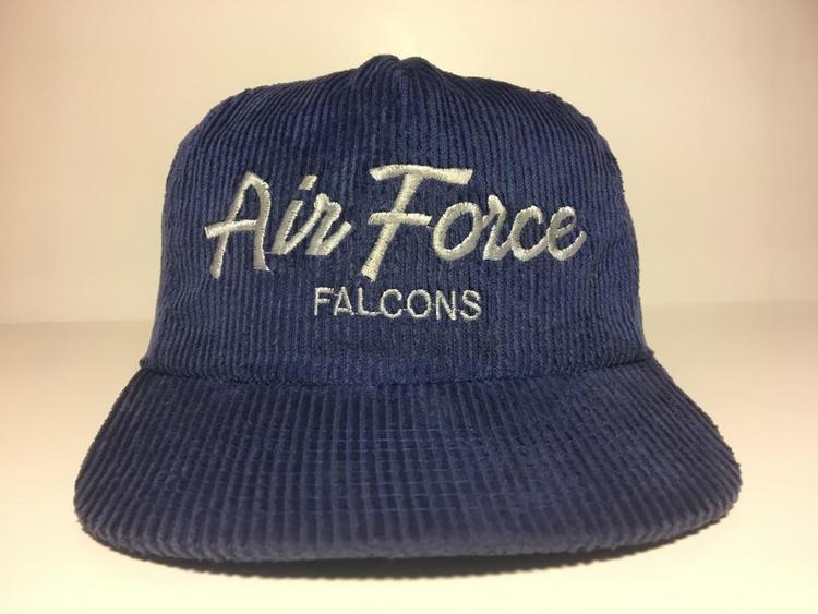 Vintage Air Force Falcons Sports Specialties Script Corduroy Snapback - SOLD e19b0c971ff