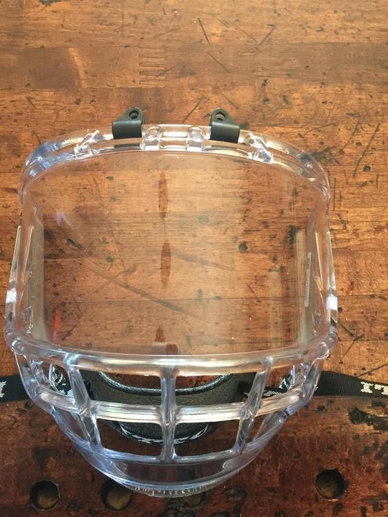 Bauer Itech Concept 2 Deluxe Full Face Shield Sold