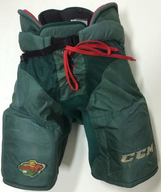 CCM HPUCLX Pro Stock Extra Large XL Green Minnesota Wild 7190 ...