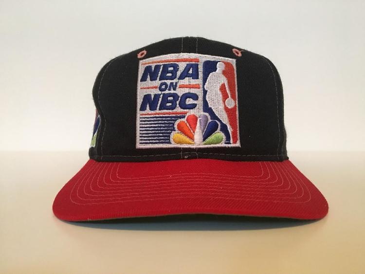 Vintage NBA NBC Sports Snapback Hat - SOLD f4ffb5ed28f