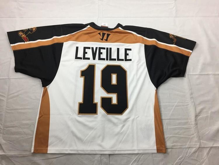 0d978b4e882 Warrior Kevin Leveille Rochester Rattlers Jerseys