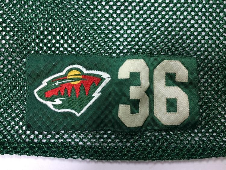 Warrior Laundry Bag Nhl Minnesota Wild Green And Red Hockey Bags