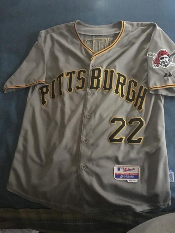 size 40 e6e16 e2bfc Andrew McCutchen Pittsburgh Pirates Away Jersey
