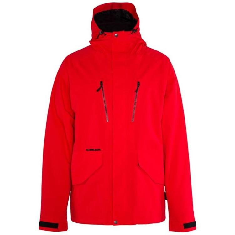 Large Red Armada Aspect Jacket - SOLD 4ed6c57f5
