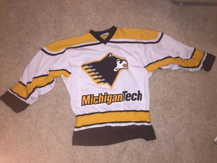 Vintage Michigan Tech Hockey Jersey - SOLD 10814f5a7bf