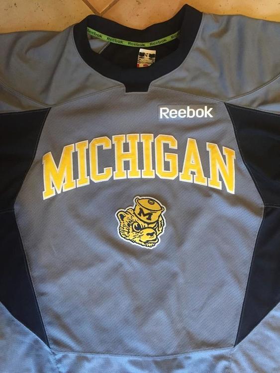 Reebok Brand New University of Michigan Pro Stock Practice ...