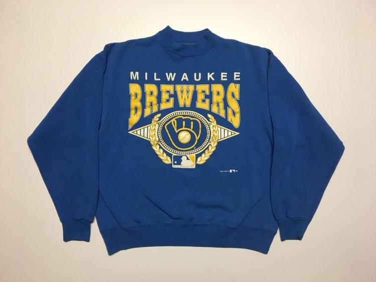 Vintage milwaukee brewers jersey