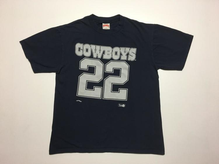 online store ebe2b 1cf39 Vintage 90's Dallas Cowboys Emmitt Smith T Shirt by Nutmeg Men's XL