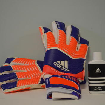 Adidas Predator Zones Fingersave All-around Goalkeeper Gloves - Size 8 -  SOLD. Comments (8) Favorites (2) cc84ede5295d