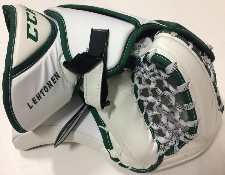CCM Extreme Flex III Pro Stock Goalie Catch Glove Lehtonen Stars 2500
