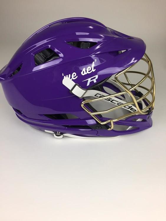 Cascade R Helmet in Purple | SOLD | Lacrosse Helmets ...