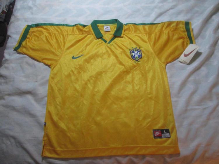 e9afd032c 1997 Nike Brazil Soccer jersey
