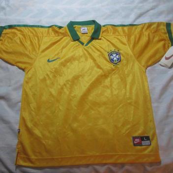 ed3f39f7977 1997 Nike Brazil Soccer jersey