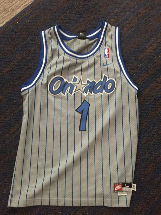 low priced fd4fc b41b8 Vintage Nike Orlando Magic Tracy McGrady Jersey