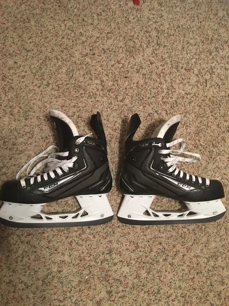 CCM ribcore 50k ice size 7 | Hockey Skates | SidelineSwap