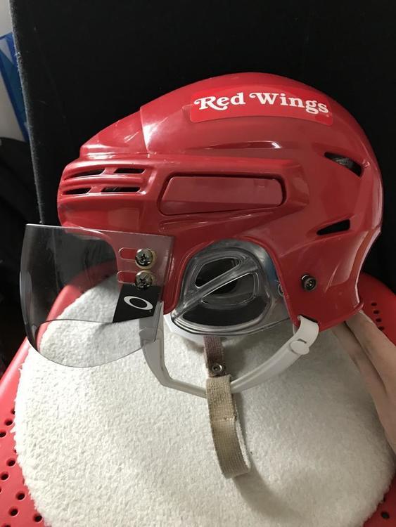 oakley visor  Bauer 7500 with Oakley Visor