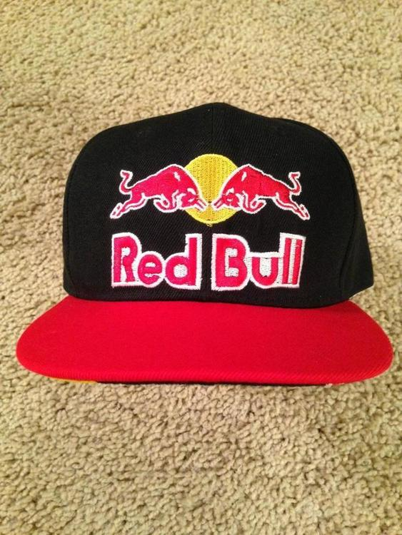 REDBULL Athlete Limited Distribution SnapBack Hat One Size Fits All BRAND  NEW – NEVER WORN... - SOLD 026b18dad00