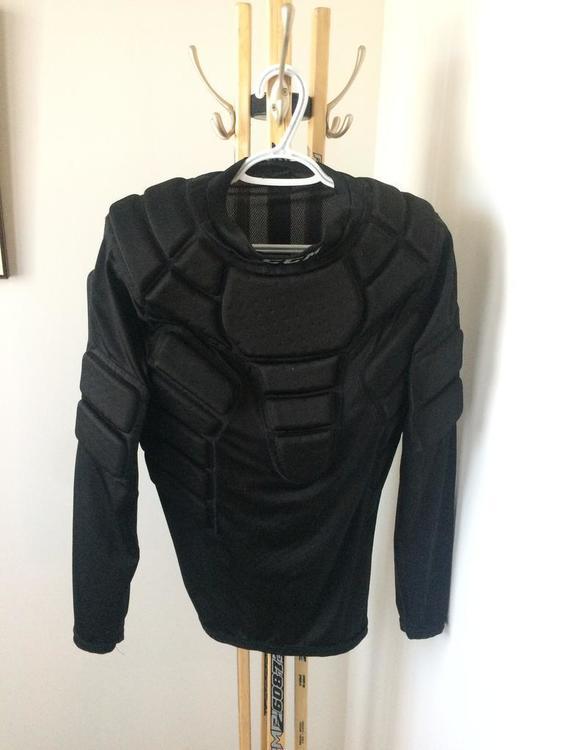 Ccm Padded Shirt Sold Hockey Goalie Sidelineswap