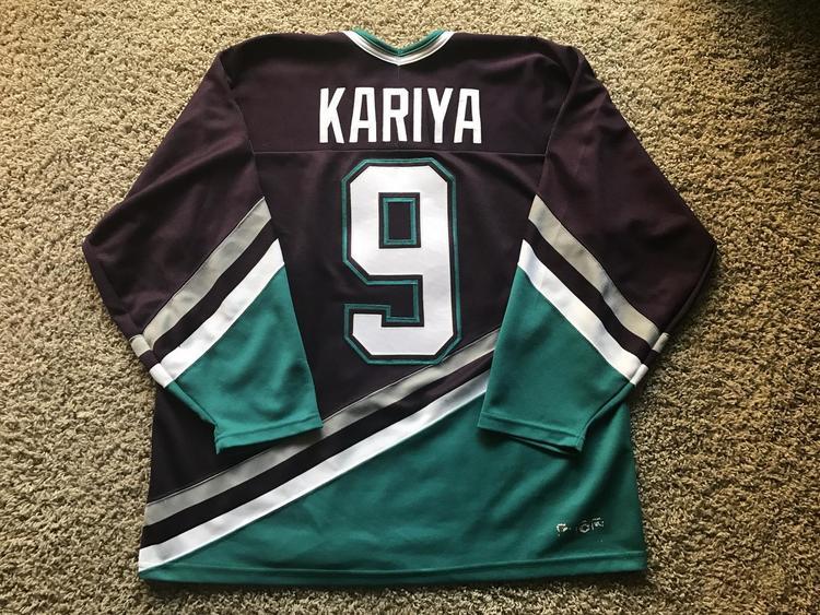 Vintage XL CCM Mighty Ducks of Anaheim Paul Kariya jersey - SOLD 89d5d9a6ca2