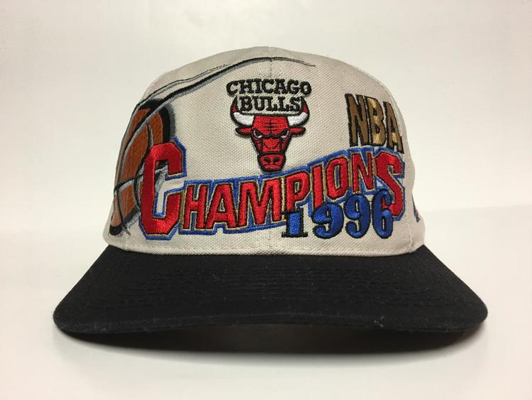 Vintage 1996 Champs Chicago Bulls Snapback Hat - SOLD 3c184a2898d