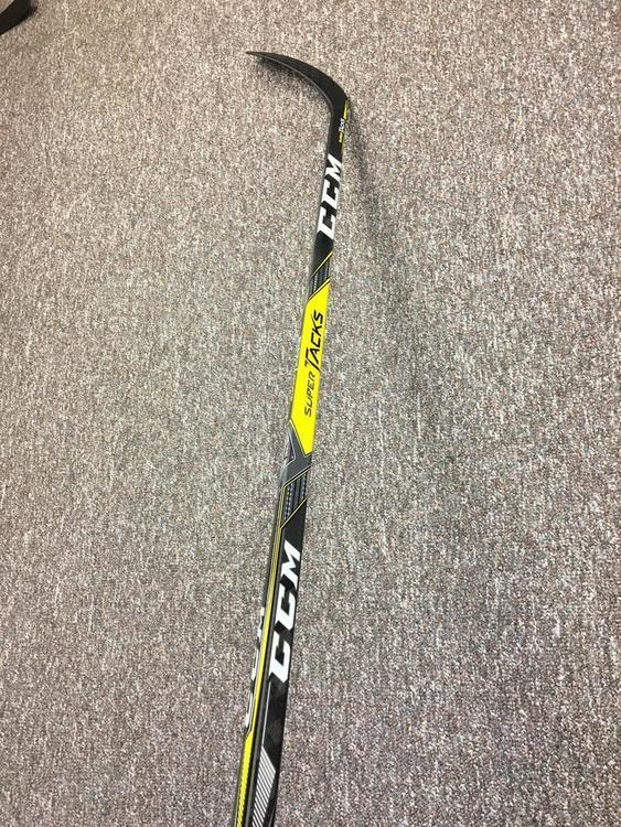 Extra Tall Brand New Custom Pro Stock CCM SuperTacks Grip Stick 85flex RH  PM9 Curve 66