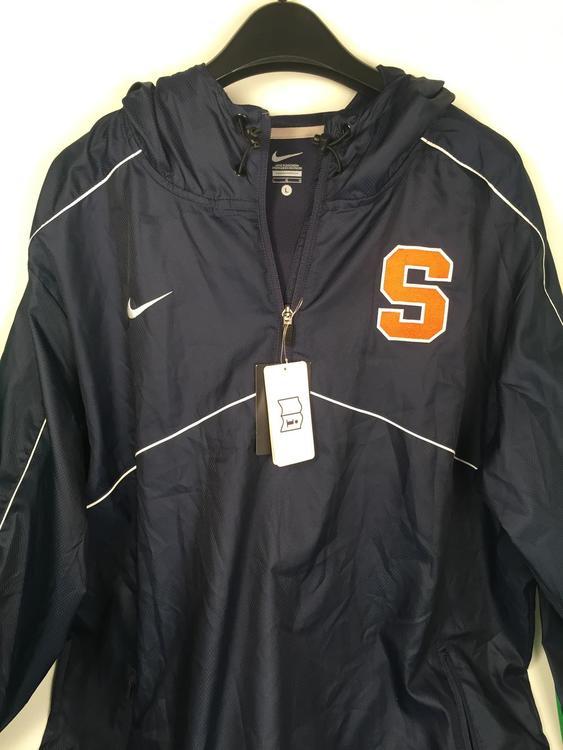 1d1f31b279d6 Syracuse Lacrosse Nike 1 4 Zip Jacket
