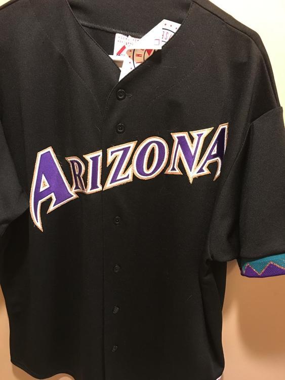 buy online f1d1c 08826 Diamondbacks Jersey Black Black Arizona Arizona scornfully ...