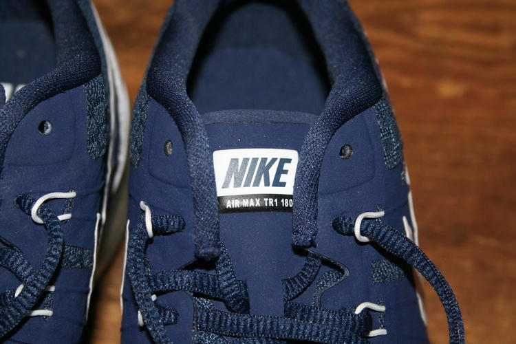 Nike PRICE DROP Brand New Navy Blue Air Max TR180 Training Shoe Size 11 | SOLD | Lacrosse Footwear | SidelineSwap