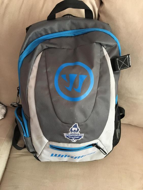 Warrior backpack hockey east championship